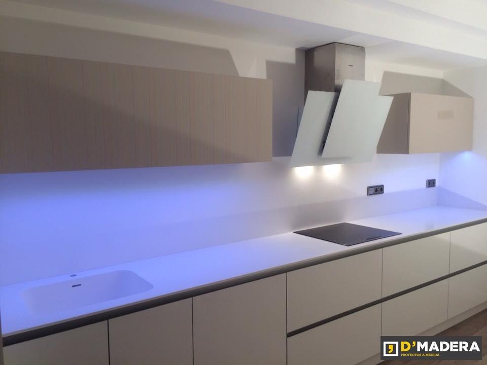 Trabajos realizados iluminaci n led sureste refrigeraci n - Luz para cocinas ...